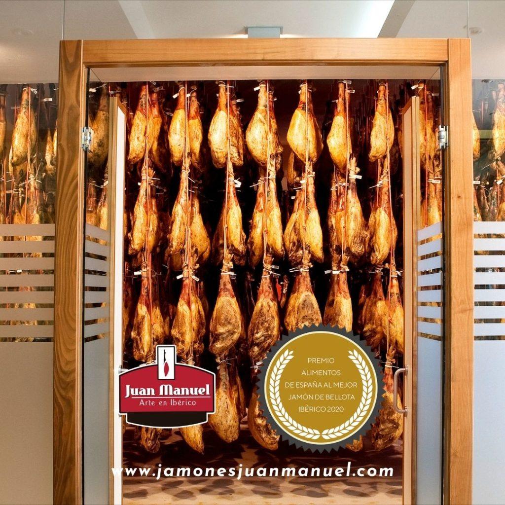 El mejor jamón ibérico del mundo