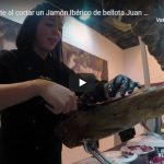 Qué se siente al cortar un Jamón Ibérico de bellota Juan Manuel