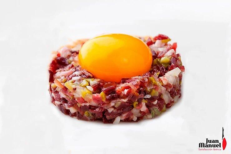 Tartar de jamón ibérico Juan Manuel, el más delicioso tartar que habrás probado nunca