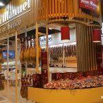 stand de ventas de Jamones Juan Manuel