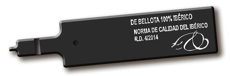 Etiqueta negra de bellota ibérico