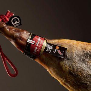 Jamón de bellota ibérico 100% raza ibérica