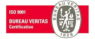 Estándar de calidad de ISO 9001 certificado por Bureau Veritas