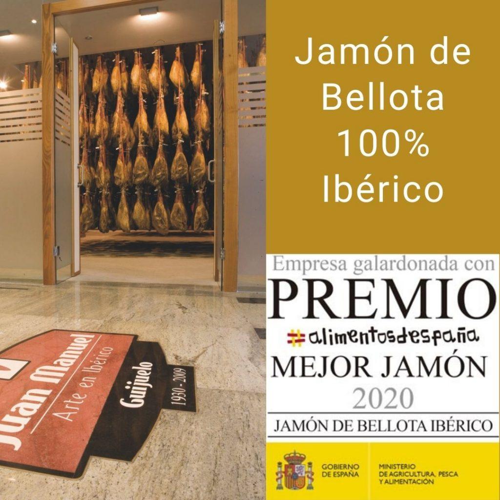 mejor Jamón de Bellota 100% Ibérico de España