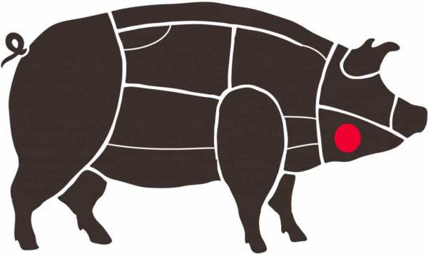 Carrillera en cerdo ibérico