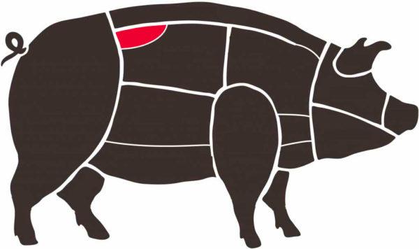solomillo en cerdo ibérico