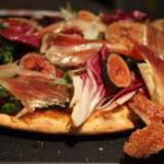 Pizza de jamón Ibérico Juan Manuel e Higos