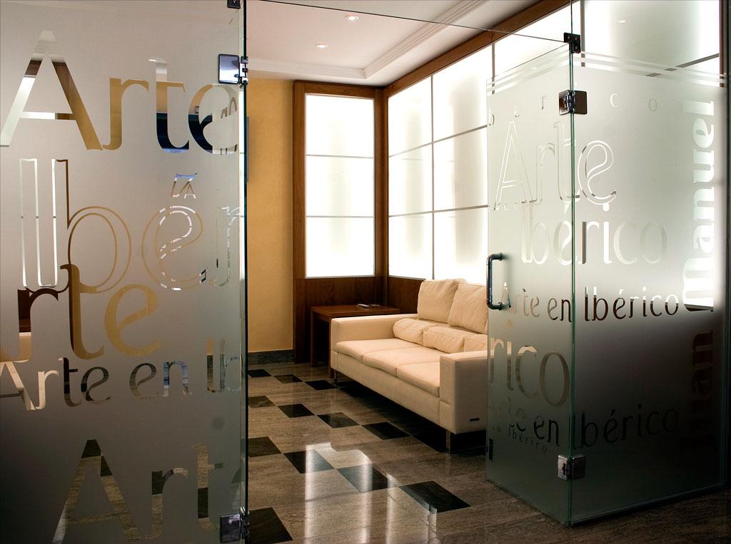 Sala de visitas de Jamones Juan Manuel